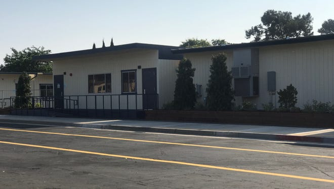 The new Triton Academy campus, located near the Camarillo Airport in a temporary facility.