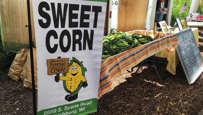 Stoneman's Famous Sweet Corn has a large group of loyal customers.