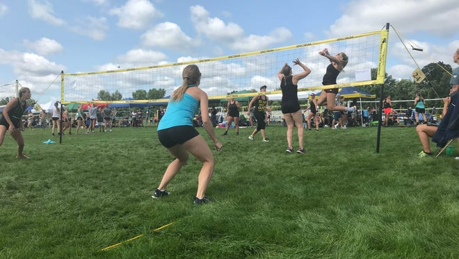 Day 2 of the Blue Water Volleygrass Festival took place Saturday at Port Huron Northern High School.