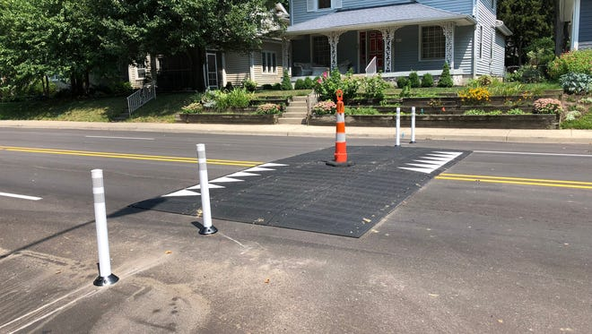 The Department of Public Works added five speed tables to Central Avenue in Indianapolis. After complaints from residents, the city announced it will extend the speed tables across the entire width of the road.