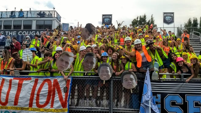 Centennial fans gear up for their game with Hendersonville.