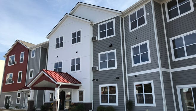 The Stonebridge apartment complex in Merrill is now open.