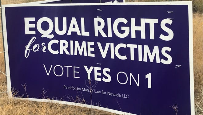 Nevada ballot Question 1, also known as Marsy's Law, would add protections for crime victims and their families to the state constitution.
