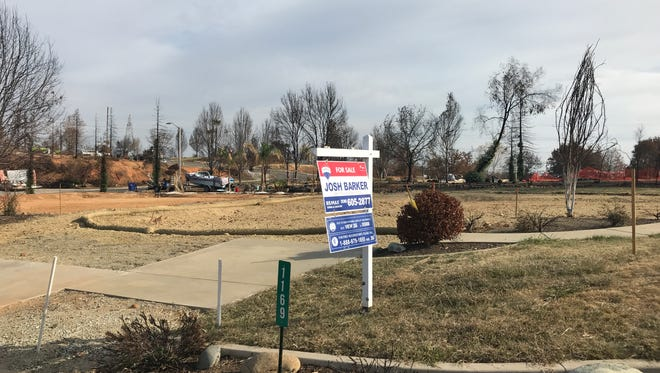 This lot in Land Park is among several that have come on the market in recent weeks.