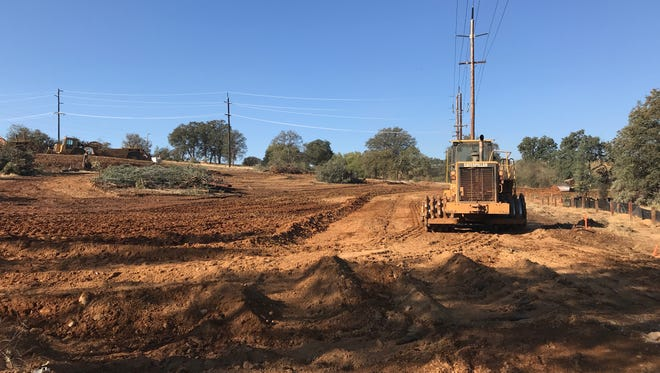 Palomar Builders has been clearing property off Mission De Oro Drive to make room for attached homes.