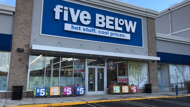 The Five Below store in Yonkers on Nov. 27, 2018.