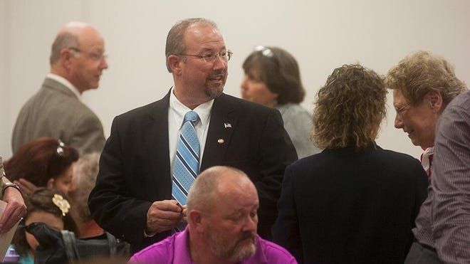 Rep. Dan Moul (R) is running against Marty Qually to represent the 91st House District.