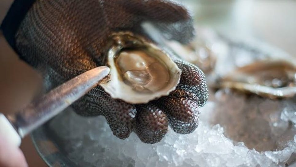 "Ropewalk features its signature oysters, ""Ropewalk"