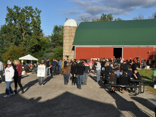 Brew, Brats & Bands at the Barn takes place at the