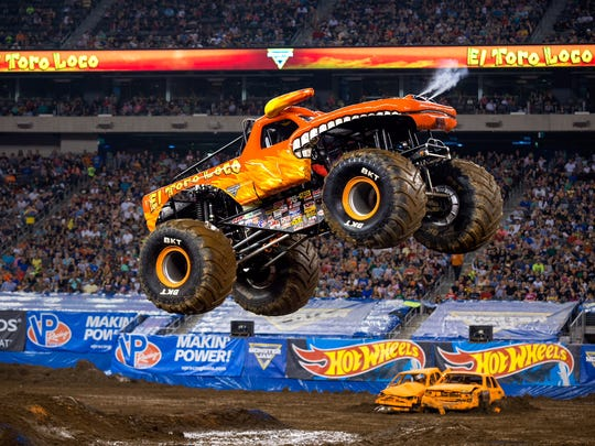 The Monster Jam Triple Threat Series will be performing at Prudential Center on Saturday, Jan. 27, and Sunday, Jan. 28.