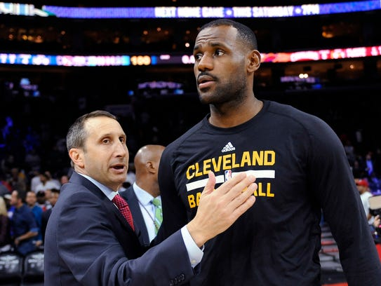 Former Cleveland Cavaliers coach David Blatt is a candidate for the Knicks' head coaching position.