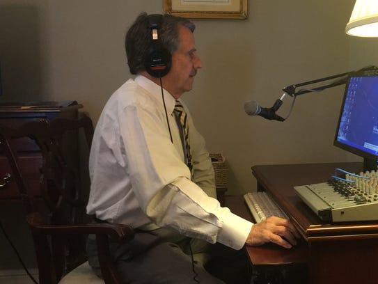 A decades-long veteran of the industry, attorney Ken Burger practiced his top-of-the-hour call sign recording before recording it.