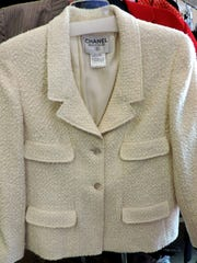 White Chanel jacket ($890)