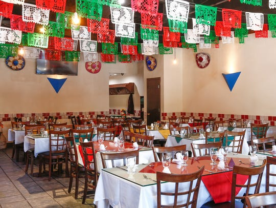Interior of Mariachi Loco II in Scarsdale on Thursday,