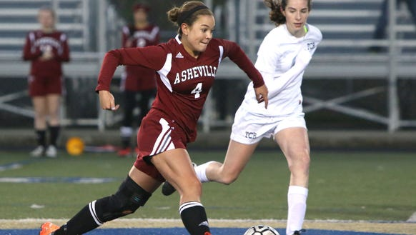 Asheville High senior Sarah Sirkin has committed to