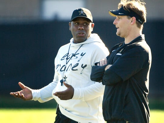 Derek Mason and Jason Tarver