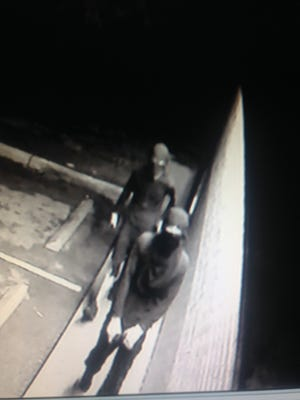 Surveillance image of two suspects involved in a July 6 Fort Myers robbery