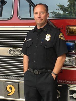 Fire Captain Greg Sanberg.