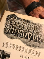 Bill Churchill is part of this 1952 yearbook photo of the Vero Beach High School Fighting Indians.