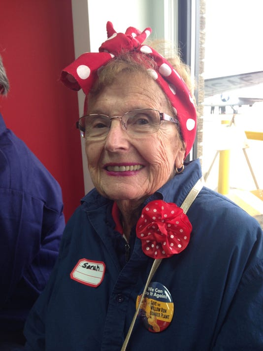 1 Of Original Rosie The Riveters World War Ii Heroes Dies At 93
