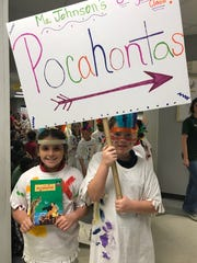 Charles Burke Elementary held its annual book character parade on Nov. 17.