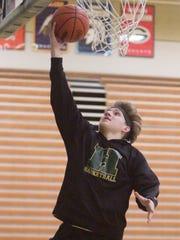 Howell High School varsity basketball player and boys'