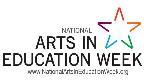 This is National Arts in Education Week.
