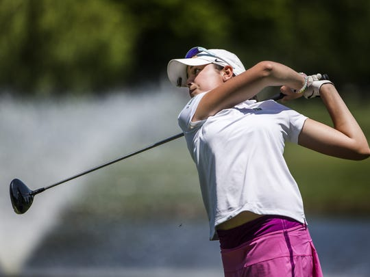 Phoebe Brinker is entering her junior year at Archmere. She lost to Valery Plata in the first round of the U.S. Girls' Junior golf tournament at Poppy Hills Golf Course in Pebble Beach, California.