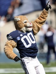 Cosmo the Cougar will be at the BYU Summit in St. George on Oct. 20, 2018.