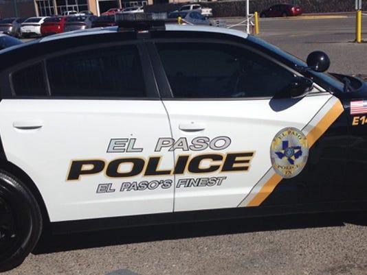 El Paso Police Department vehicle
