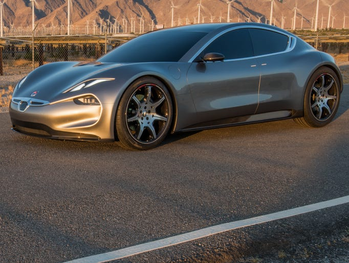 Henrik Fisker has created a prototype for a new electric