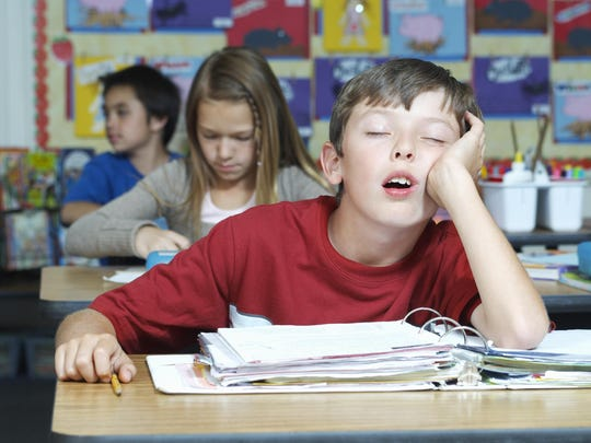 A solid sleep habit is important for students of all ages.