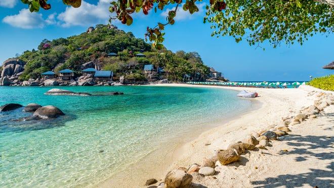 Phuket, Thailand, is the No. 10 international destination.