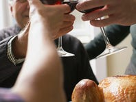 We're raising a glass to you with these Thanksgiving tips and recipes.