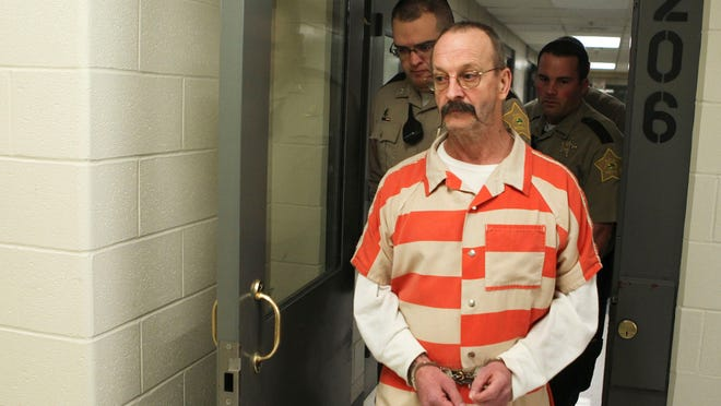 Convicted murderer William Clyde Gibson heads to court Tuesday morning for formal sentencing after being convicted in October of murdering Christine Whitis in 2012. The jury recommended the death penalty for Gibson. Gibson faces two more murder trials.