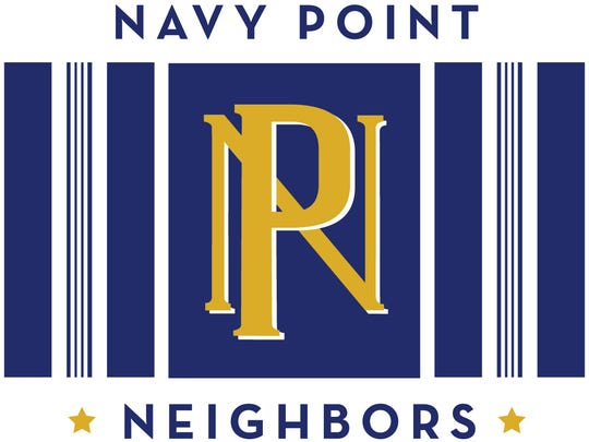 Navy Point logo is the same from the old Navy Point Stores of decades past.