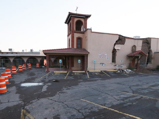 San José Catholic Church at 8100 San Jose Road in the Lower Valley will be torn down.