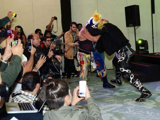 En la presentación del Triplemanía XXIV, Psycho Clown