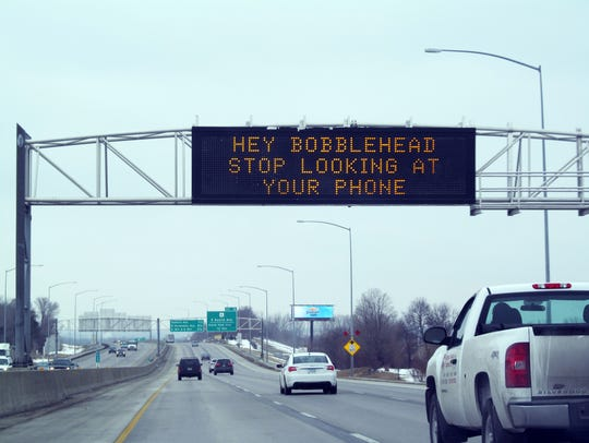 The Iowa Department of Transportation writes funny