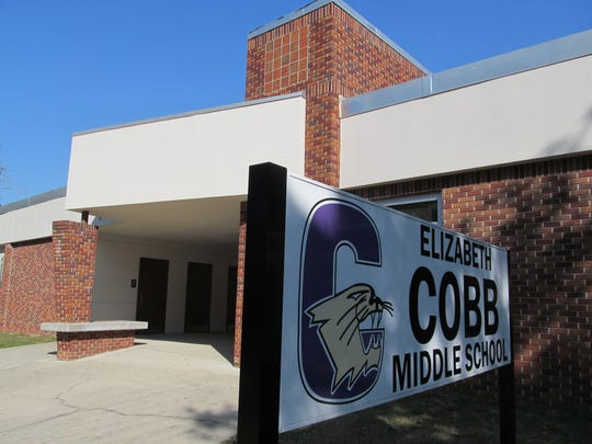 Cobb Middle School was one of four schools targeted in threats made through social media accounts, beginning on Sunday night.