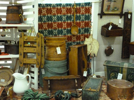 With 50 booths, the Wausau Antique Show will feature a wide variety of treasures.