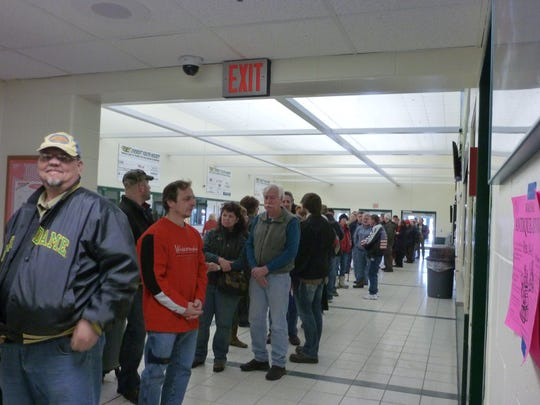 The annual Wausau Antique Show draws a crowd to the Greenheck Field House.