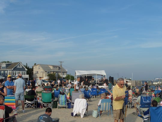 Somers Point free beach concerts at Municipal Beach