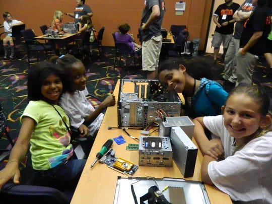 Geek Squad Summer Academy 2012 at the Boys & Girls Club of Oshkosh.