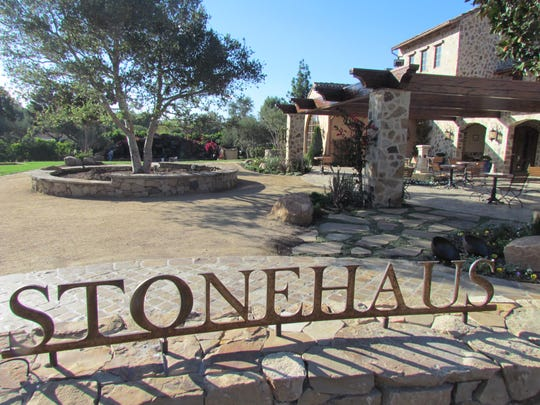 The vineyard at The Stonehaus at the Westlake Village Inn will be the setting for a Sept. 24 wine dinner.