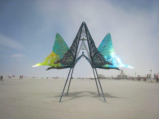 """Imago"" is a piece by Berkley, Calif.-based artist Kirsten Berg."