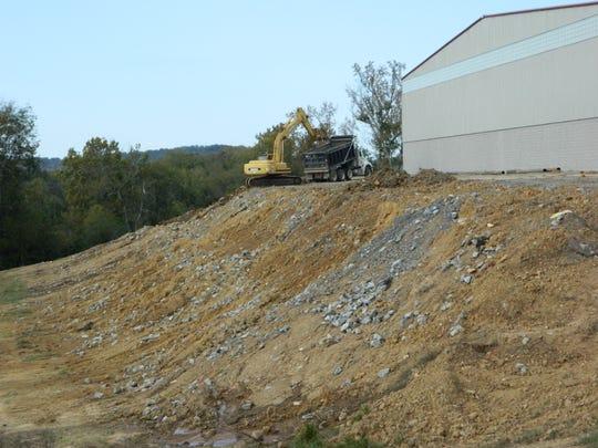 A contractor began repair work in October 2014 to repair