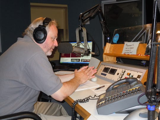"WCTC's ""Jersey Central with Bert Baron,"" on the air"