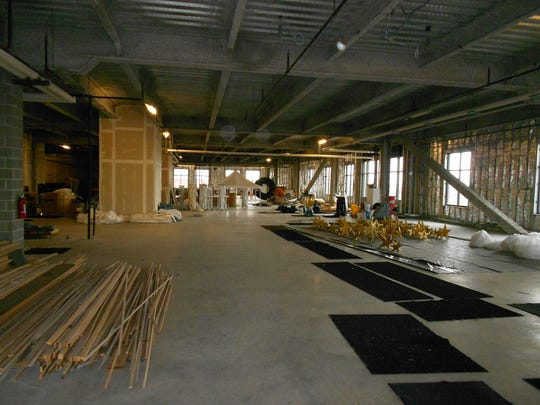 Work on the Courts Center