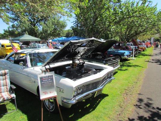 Santiam Summerfest car show
